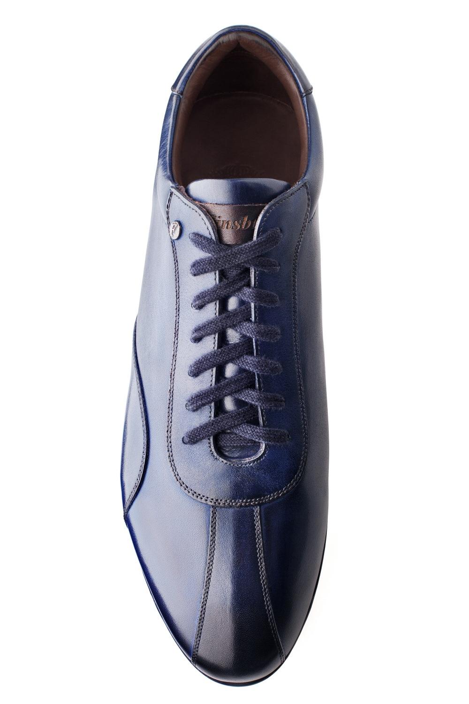sneaker copan bleu patin pour homme finsbury shoes. Black Bedroom Furniture Sets. Home Design Ideas
