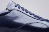 Sneaker COPAN Bleu Patine Finsbury Shoes