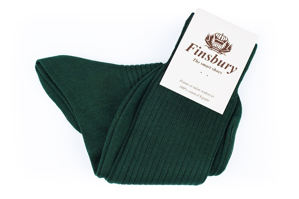 British Green Cotton Socks