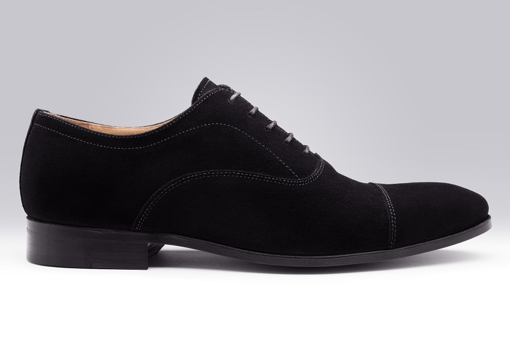 WHITNEY Black Suede