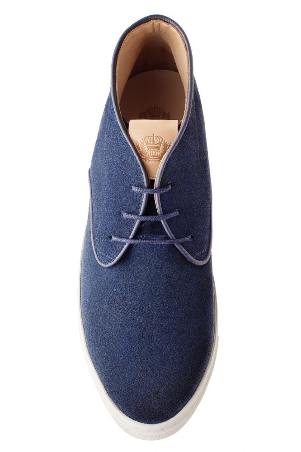 dernière conception style distinctif rechercher le dernier Cali daim bleu marine sneaker chaussure de ville pour homme