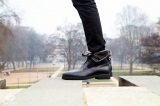 Bottines boots YUKON Noir - Homme Finsbury Shoes