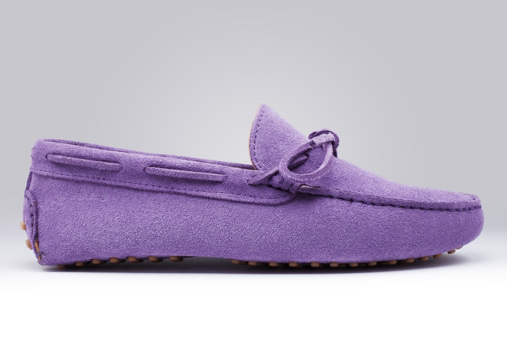 Loafers GINO Lavender Suede