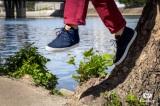 Sneaker Cali Daim Bleu Marine
