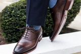 COOPER Noyer Patiné - Finsbury Shoes