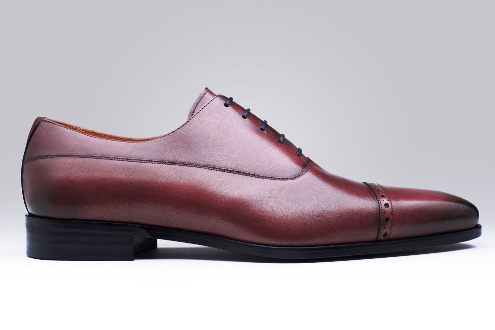 LONGCHAMPS Burgundy Patina