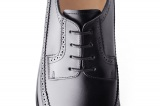 clifton black mens derby shoe