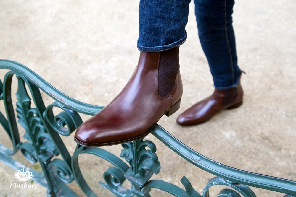 Bottines CHESTER Marron