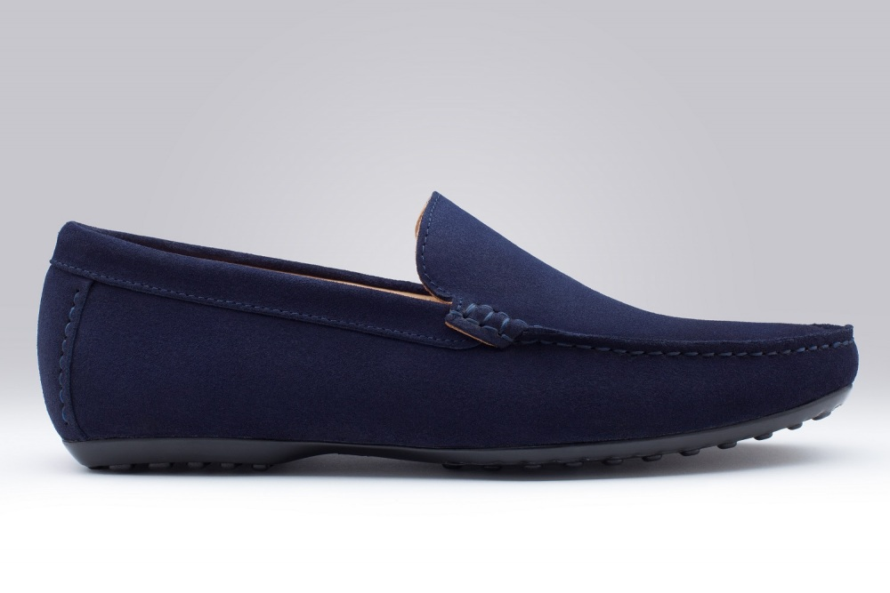 DANDY Navy Blue Suede