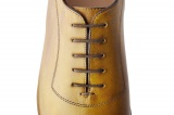 Chaussure richelieu BORGO Gold patiné - Finbury Shoes