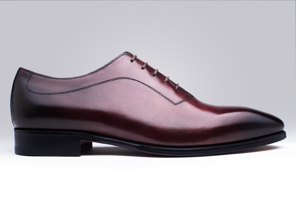 Oxford BORGO Burgundy Patina