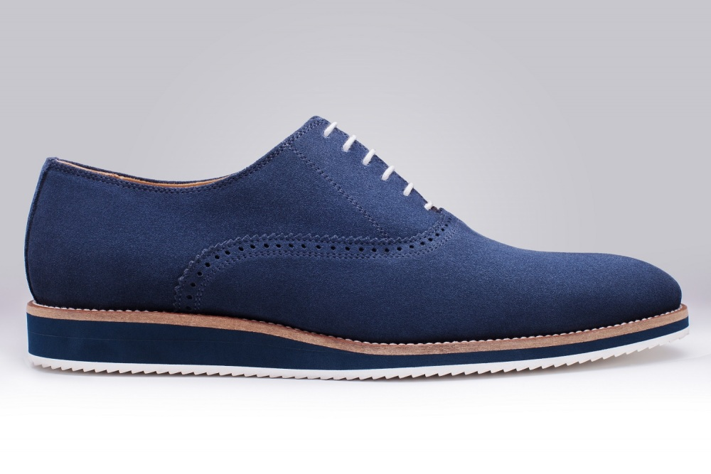 Oxford WILL Navy Suede
