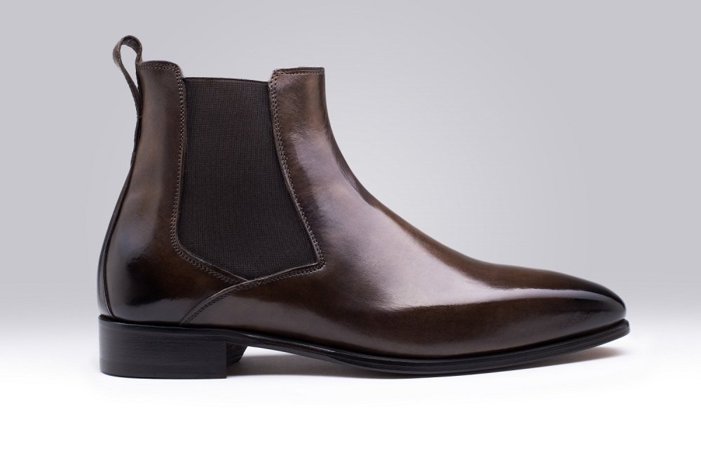 Bottines BORGHESE Marron Foncé