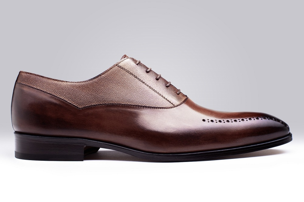 Oxford STEFANO Brown Patina