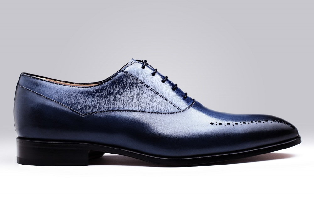 Oxford STEFANO Blue Patina
