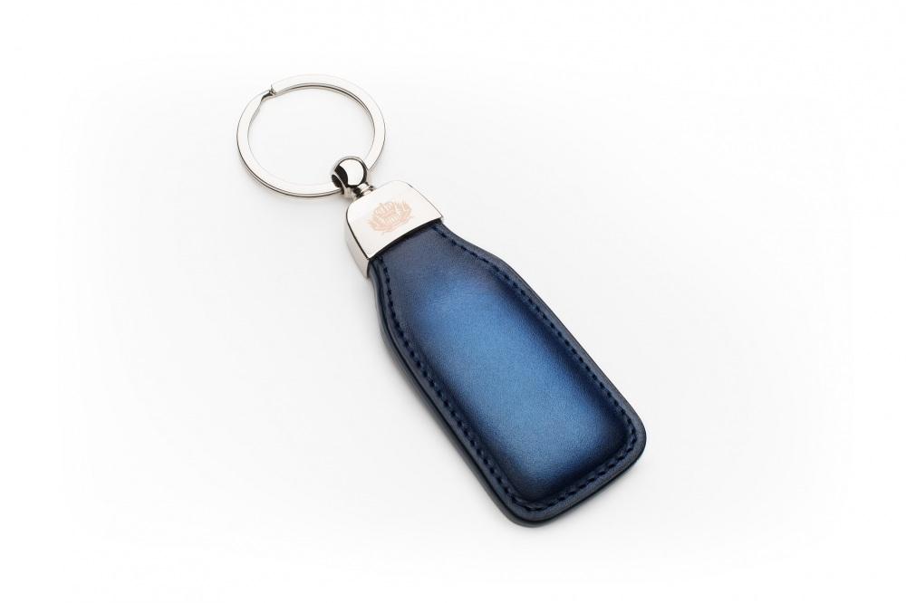 Porte-clés Bleu Patiné
