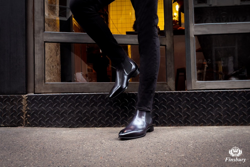 Boots BORGHESE Black