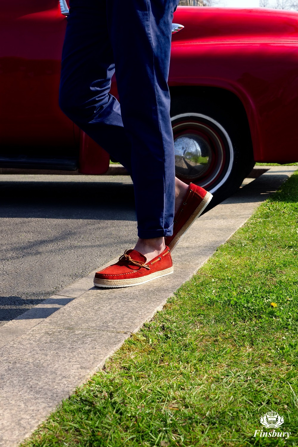 Loafers Panama Brick Red