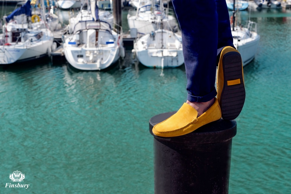 DANDY Suede Yellow