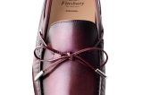 Mocassin Homme Nikki couleur bordeaux patine - Finsbury Shoes