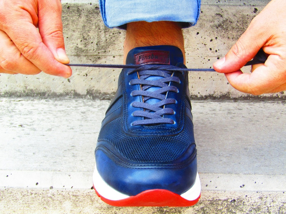 Sneakers MACEO Blue Patina