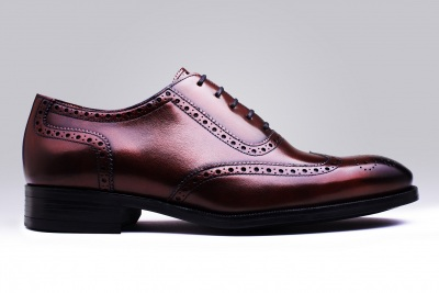 chaussure cuir montant homme