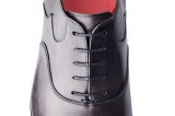Richelieu Winner en Cuir Gris Finsbury Shoes