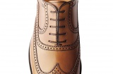 Chaussures Richelieu Strand 2 gold Patiné - Finsbury Shoes