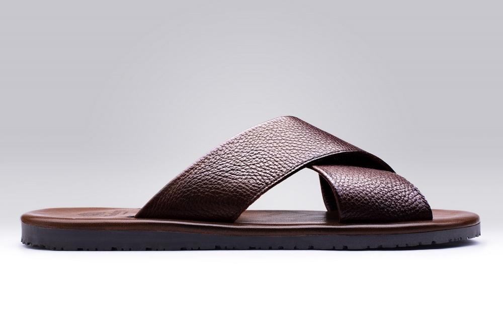 Sandale PAROS Grene Marron