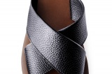 SANDAL PAROS BROWN PEBBLE-GRAIN