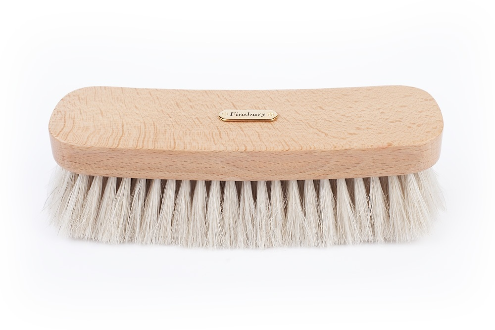 Medium Size White Horsehair Brush