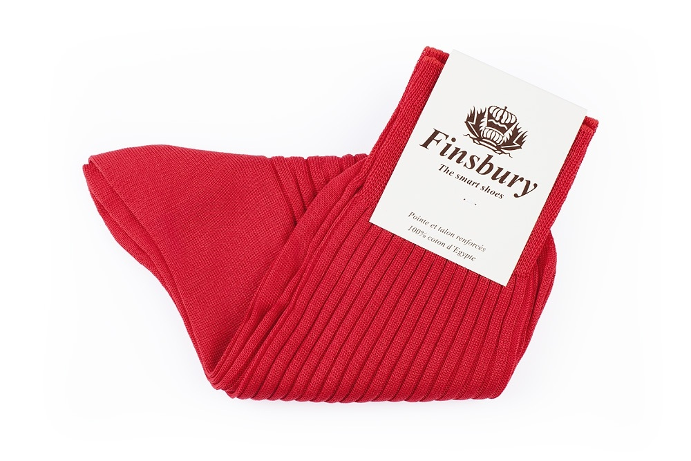 Red Cotton Socks