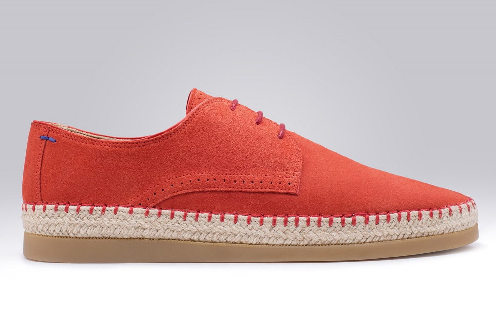 Rope-soled Oxford CALIFORNIA Red