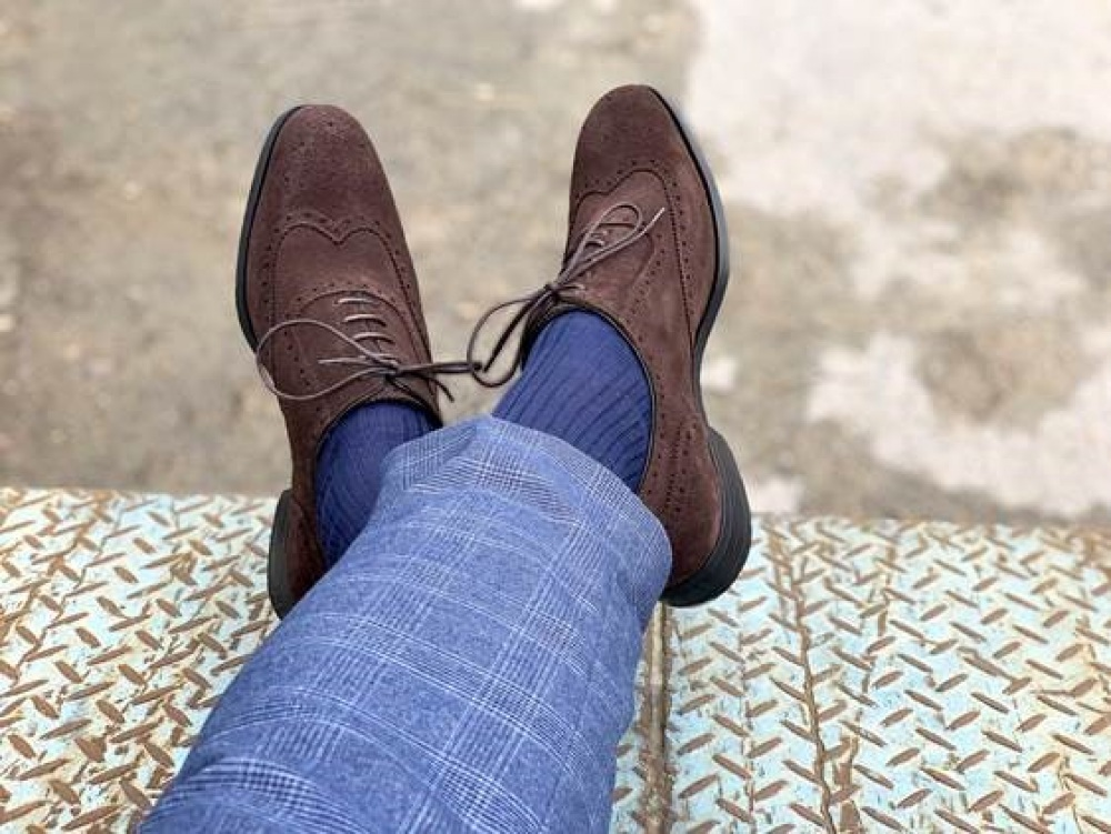 Oxford ZACH Suede Brown
