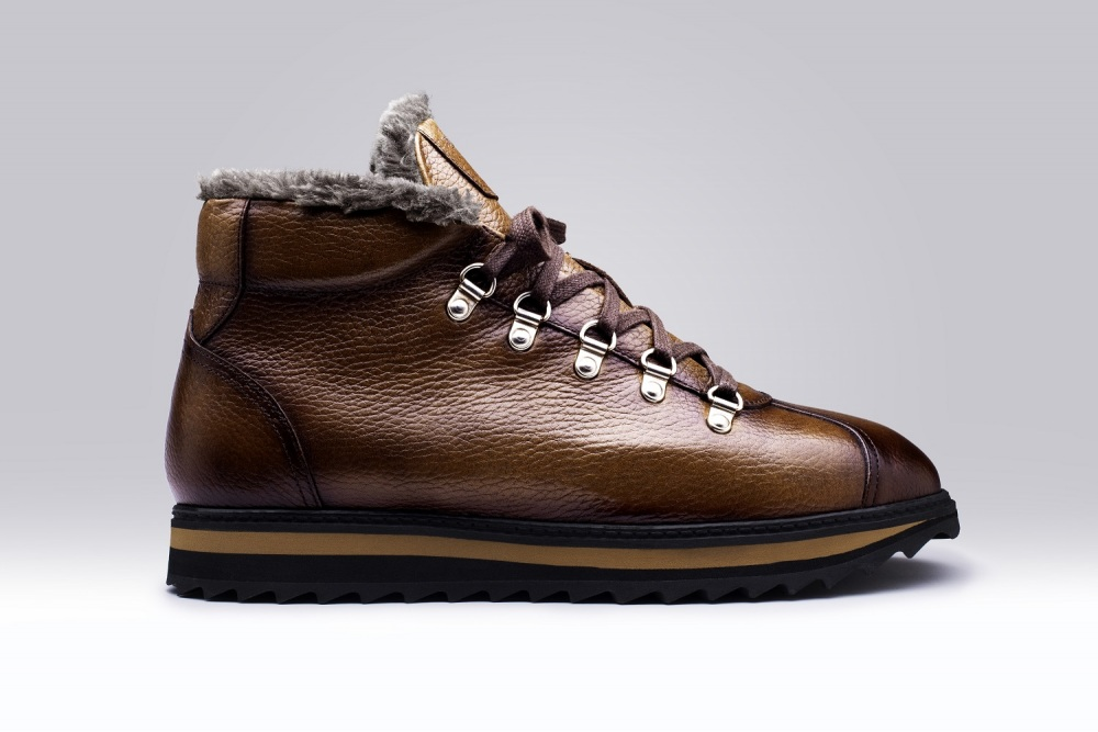 Bottines SAMOENS Marron