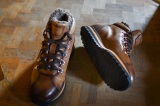 Bottines boots hiver fourré - SAMOENS Marron - Homme Finsbury Shoes