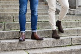 CHELSEA Suede Brown Boots