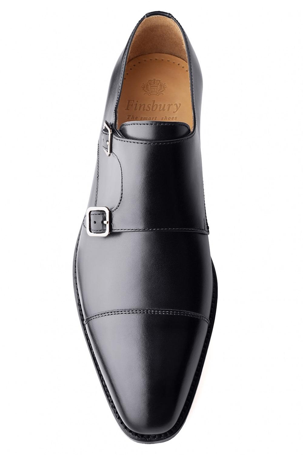 chaussures boucle cambridge noir pour homme finsbury shoes. Black Bedroom Furniture Sets. Home Design Ideas