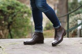 Bottines GRAHAMS Marron Finsbury Shoes