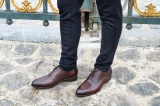 Oxford Brown Shoes - Andreas by Finsbury