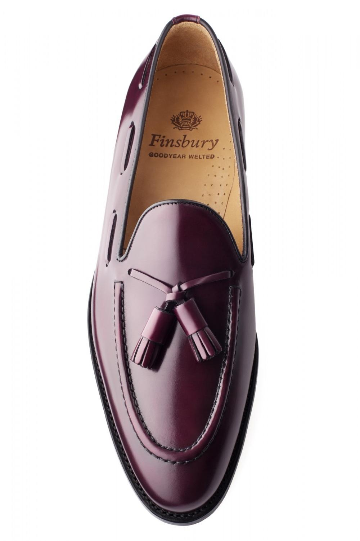 Cuir Alden Pour Homme Finsbury Bordeaux Mocassin Shoes Lisse H4WxEHq