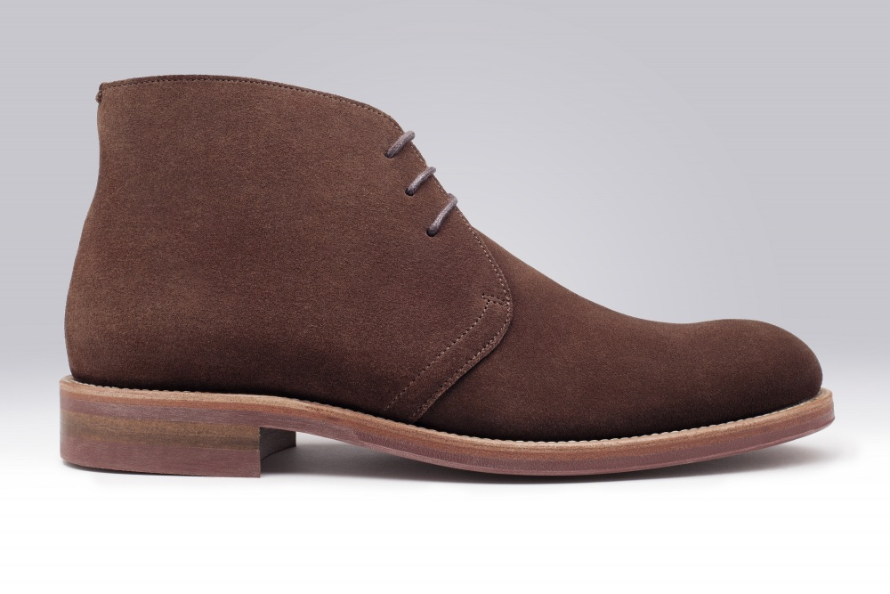STEED Brown Suede