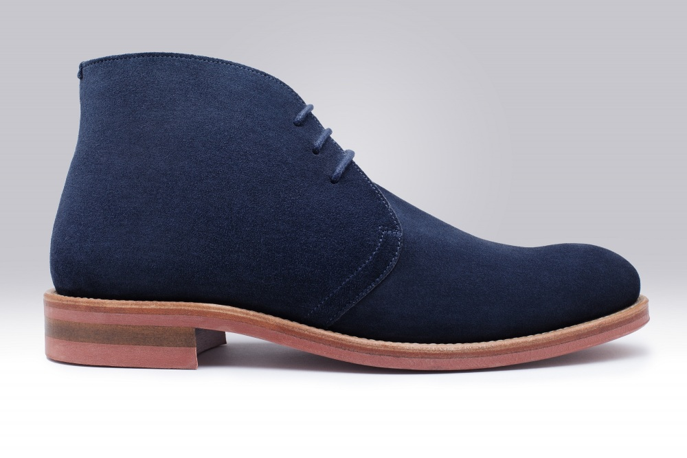 STEED Veau Velours Navy