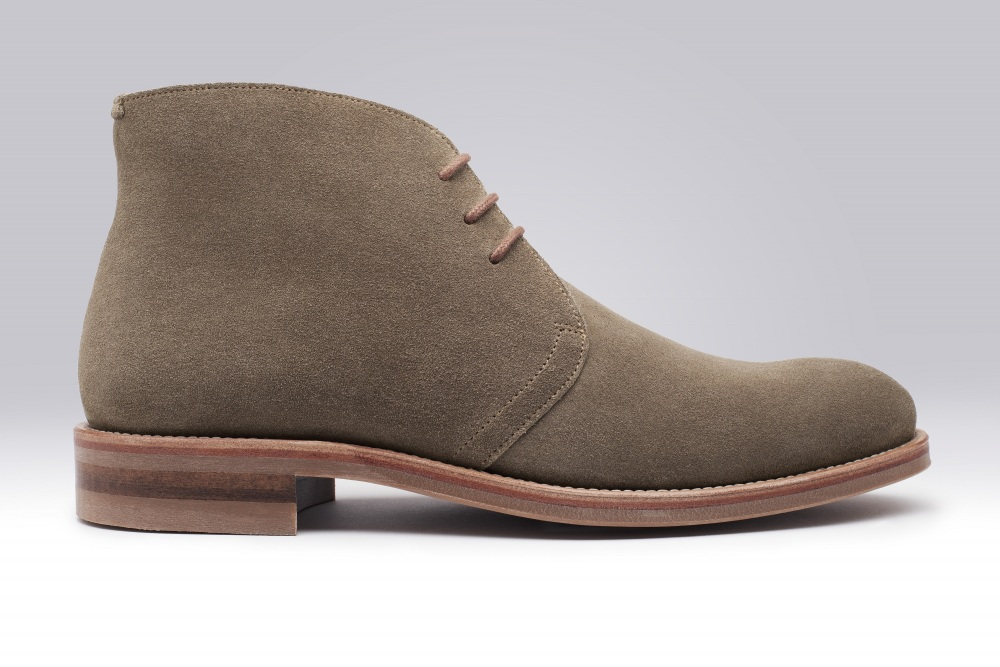 STEED Suede Taupe