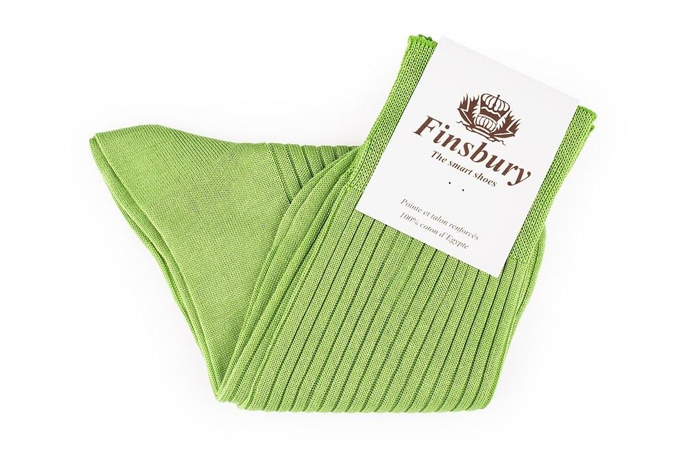 Chaussettes Vert Anis