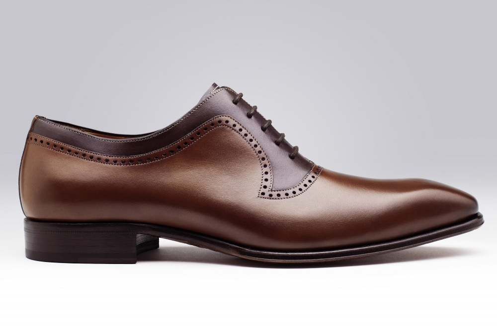 Oxford PRESTON Cognac