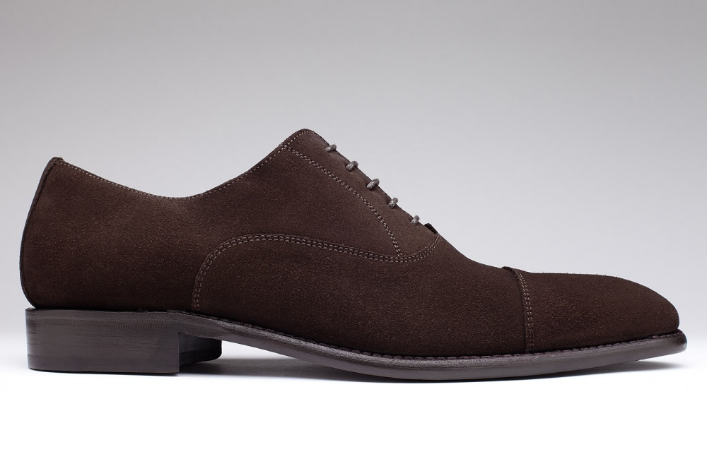 Oxford CONSUL Suede Chestnut