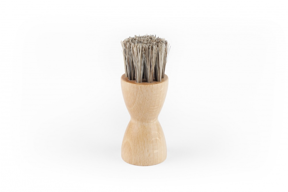 White Waxing Brush