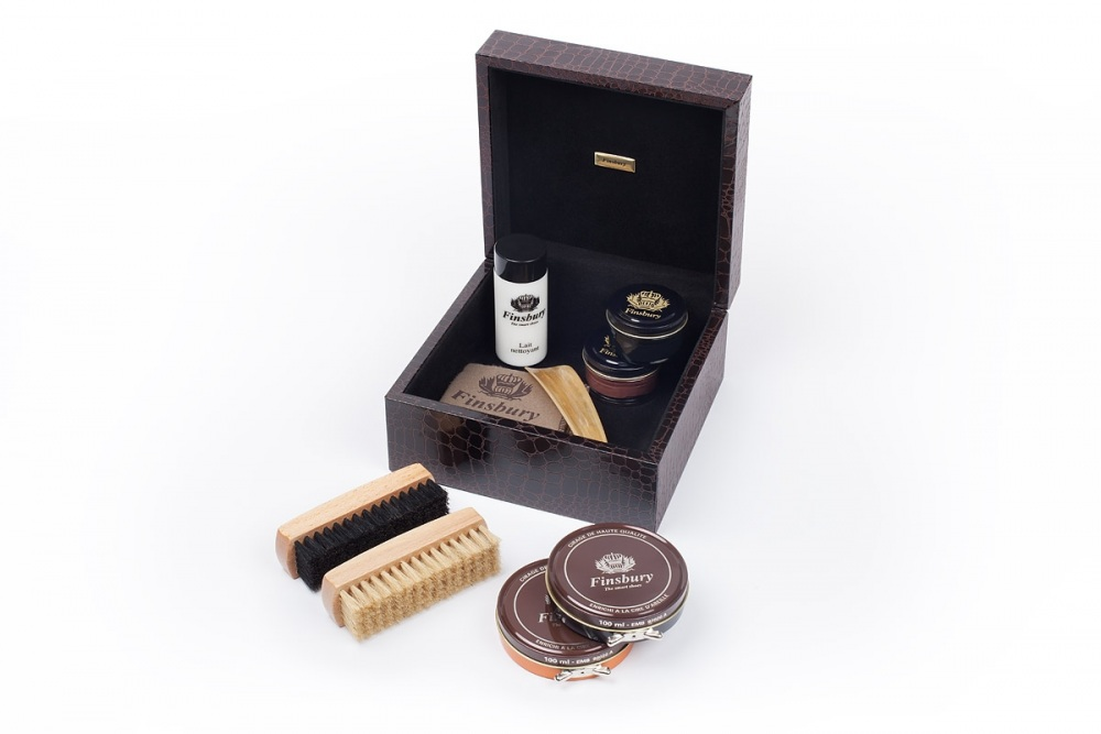 Shoe Care Crocodile Style Set