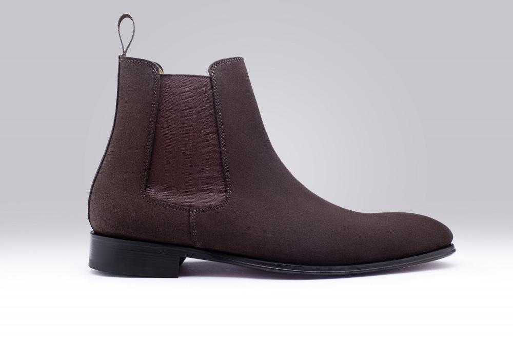 chester daim marron bottine pour homme finsbury shoes. Black Bedroom Furniture Sets. Home Design Ideas